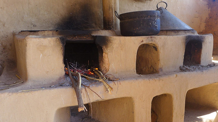 An example of a cleaner stove from Eritrea