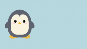Screenshot of the Penguin | Pure CSS Codepen by Julie Park