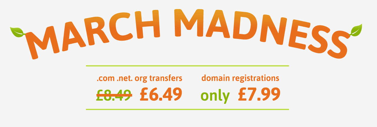 Domain Promotion Banner